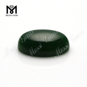 oval green jade cabochon natural jade gems