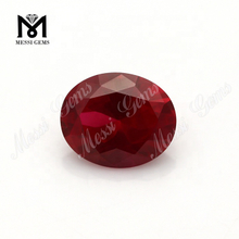 factory machine cut #7 red loose dark ruby stones