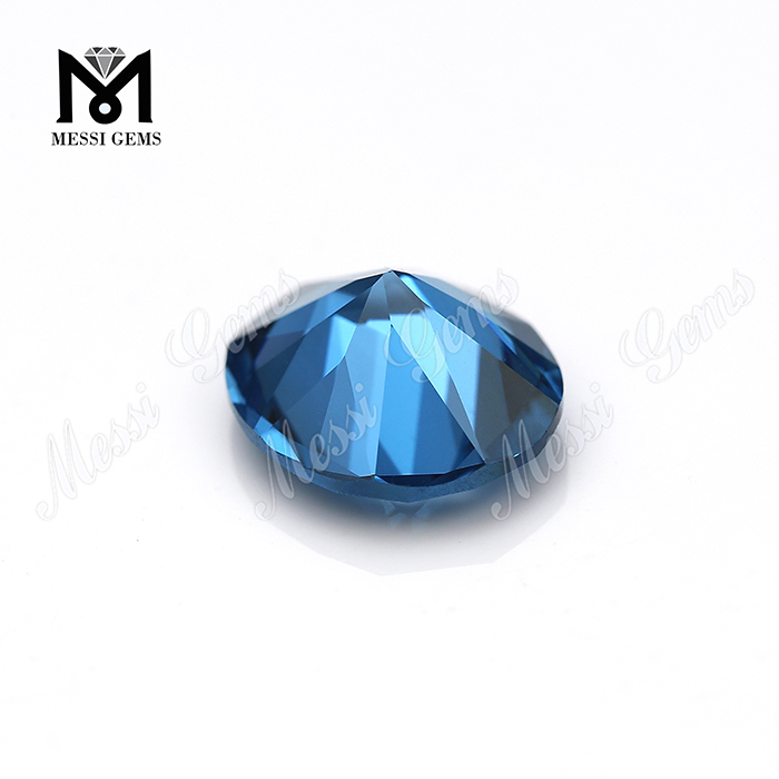 Wholesale 120# Synthetic Blue Spinel Stones