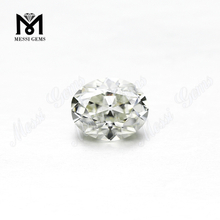 Oval cut 10 x 8 mm ij color vs china moissanite