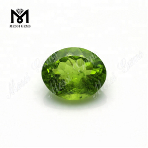 Oval 6x8MM Precious Natural Green Olivine Stone