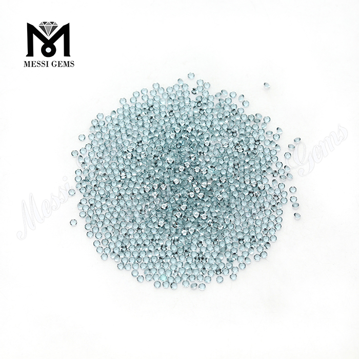 To Quality Blue Color Small Size Round 1.5mm Glass Stone