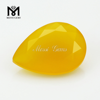 Natural Agate Gemstone Loose Yellow Agate Stone Wholesale Price