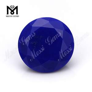 round cut 10mm natural lapis lazuli stones from China