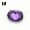 #46 corundum oval cut synthetic color change stones alexandrite