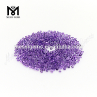 wholesale loose Round 1.5mm natural Amethyst Crystal stone