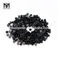 Wholesale 2.5 mm Round cabochon black agate