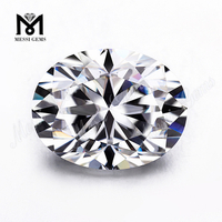 DEF VVS Oval Faceted White moissanite diamond Per Carat Price