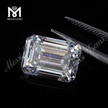 Wholesale Price High Quality Emerald Cut DEF Loose White Moissanites