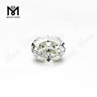 China Oval Cut moissanite diamond IJ Color Forever Classic Synthetic Moissanites Stone