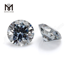 Best quality DEF wholesale grey moissanite stone
