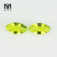 Wholesale Color Machine Cut Faceted Loose Cheap Glass Gemstone Price