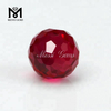 Wholesale Round 8MM 5# Red Ruby Bead Stone With Hole