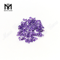 2.5mm princess cut factory supply amethyst stones price from China