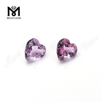 High Quality heart cut crystal stone natural amethyst stone price per carat