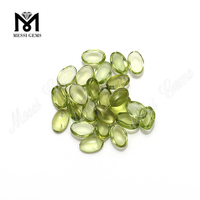 Oval Cabochon Gemstones Natural Peridot Gemstones from China