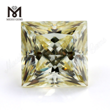 manufacturer loose gems yellow moissanite stone