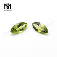 hot sale round facet cut marquise natural peridot loose gemstones