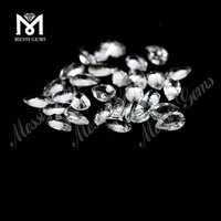 pear cut loose natural stones AAA white topaz wholesale price