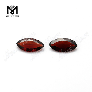 Mozambique marquise cut real loose red garnet stones price natural