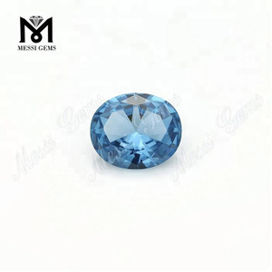 Factory Price 106# Blue Synthetic Spinel Gemstone