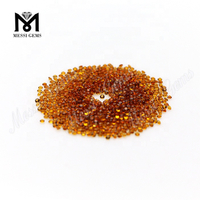 Wholesale Round Shape 1.5mm Small Size Natural Citrine Stone Price