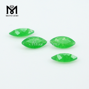 loose natural malaysian jade marquise shape stones jewels jade for wholesale