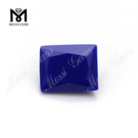 Rectangle Synthetic Lapis Lazuli Nano Bead Stone