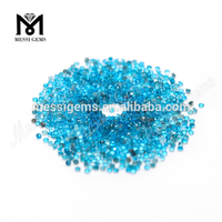 Round 1.5 mm Natural Blue Apatite Gem Stone For Jewelry
