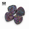 Natural Trillion Rainbow Red Druzy Agate Natural Druzy Stone