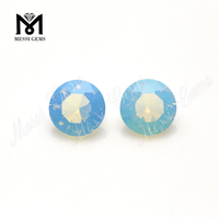 Wholesale Glass Stone Price Round Synthetic Opal Crystal Glass Gemstone