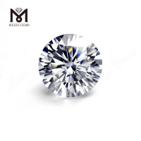 0.9 mm to 9 mm synthetic def super white moissanite diamond loose stone