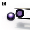 10 x 10mm cushion cabochon cut amethyst color cubic zirconia