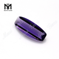 high quality fancy cut purple crystal glass stone