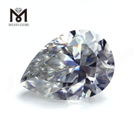 Factory price 7x10mm pear cut def vvs 2 carat moissanites