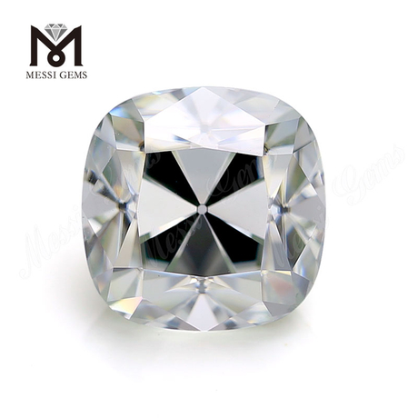 Wholesale 8x8mm 3cts moissanite diamond Old European Old Mine Cut Cushion Synthetic Moissanites Loose