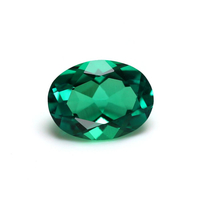 Oval cut 1 carat colombian emeraldprice per carat loose gemstone