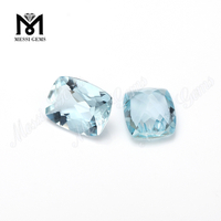 Cushion Cut Natural Precious Stones Aquamarine Gem Price