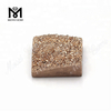 Square 14X14MM Natural Druzy Wholesale Rose Gold Druzy Stone