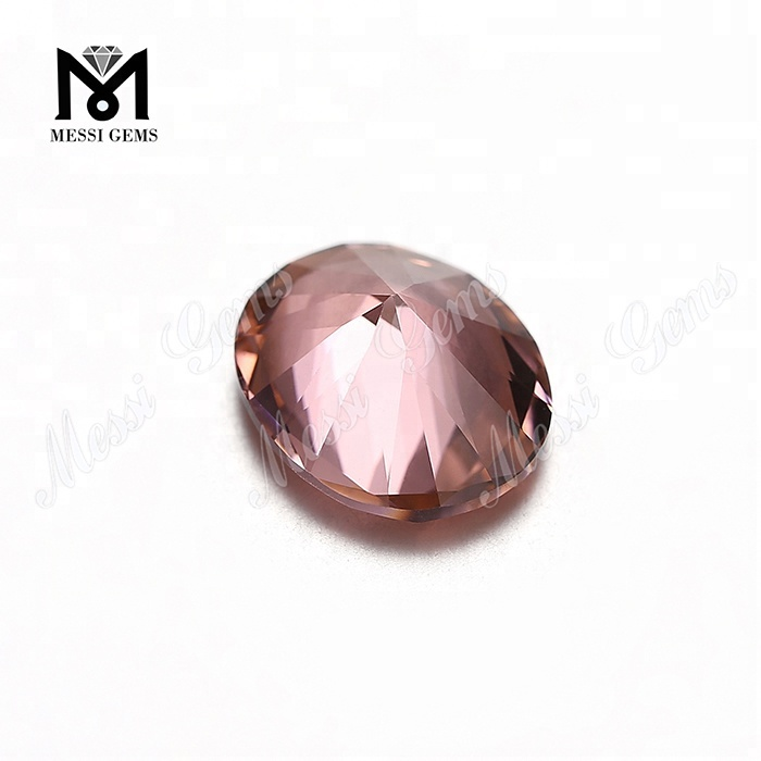 Wholesale Russia Oval Color Change Stone Nanosital Loose Gemstone