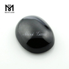 For ring maker Oval Cut flat cabochon 12 X 16 mm black spinel