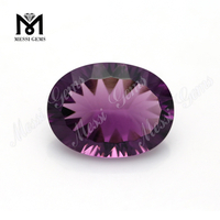 amethyst large size jewelry making glass stone