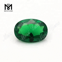 Wholesale Oval 10 x 14mm Green Nano Stone