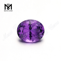 loose gemstone nanosital oval cut #2299 purple nano stone