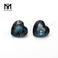 heart cut 6x6mm natural loose stones london blue topaz gems price
