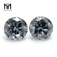 Loose gemstone brilliant cut grey 1 carat moissanites price