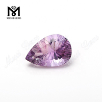 Wuzhou factory concave cut amethyst quartz loose gemstone
