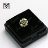 Factory price moissanite diamond wholesale 5mm brilliant yellow gemstone moissanite for ring