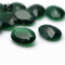 Factory Price Oval Cut 8*10 mm Green Chalcedony Agate Stone