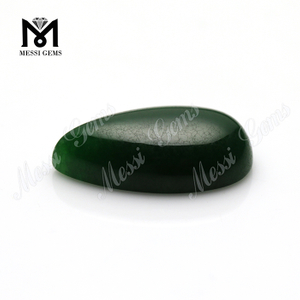 Natural Green Jade Pear Shape 14x24mm Jade Stone
